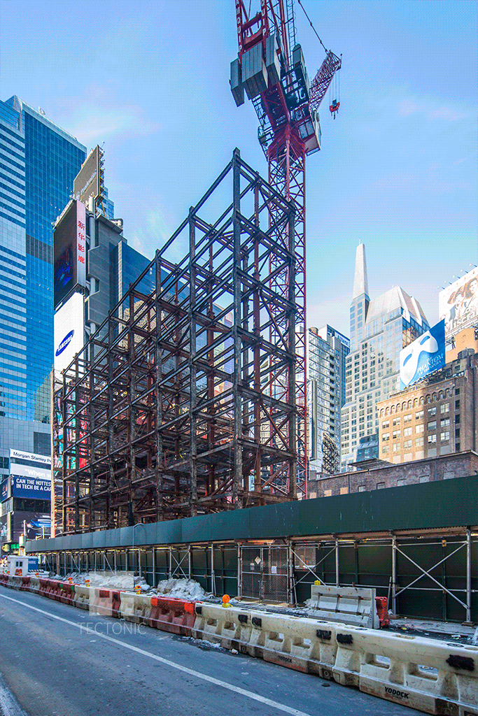 View northwest along West 47th Street