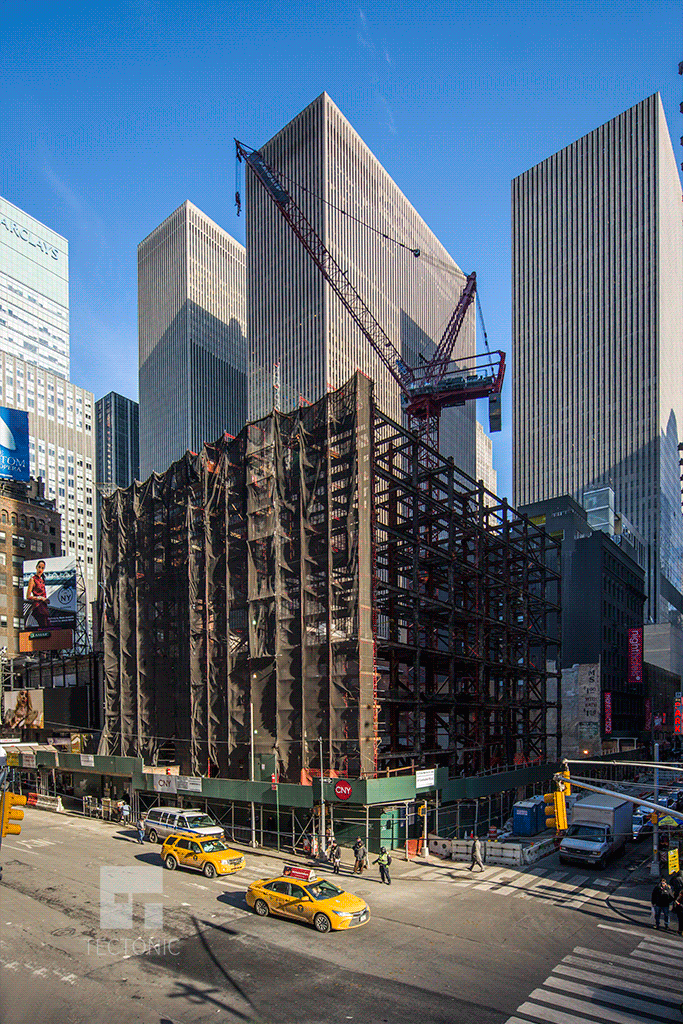 Viewed from Times Square
