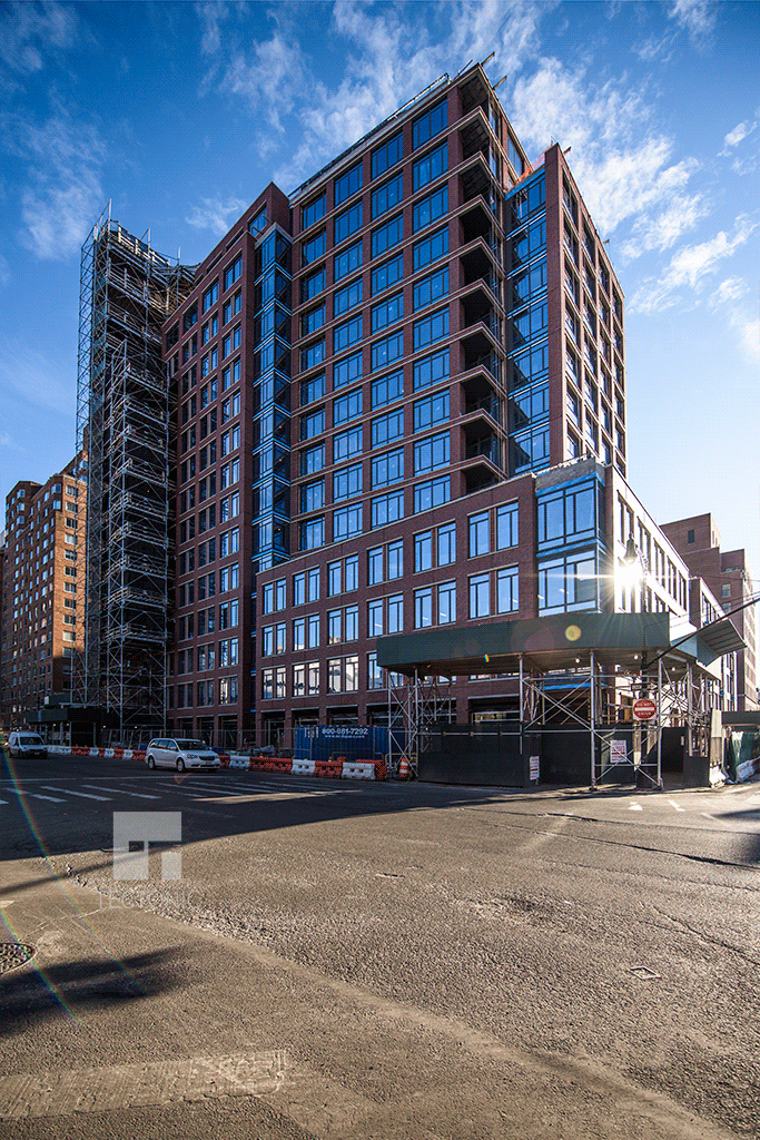 Tower section of 155 West 11th Street from 6th Avenue
