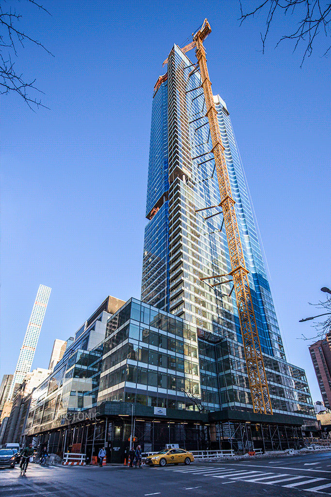 Viewed from East 56th Street and 2nd Avenue