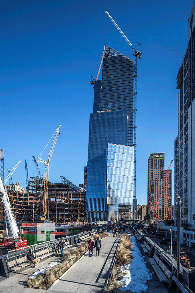 Construction Photos 10 Hudson Yards Nyc Tectonic