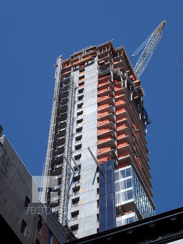 Upper floors from East 22nd Street