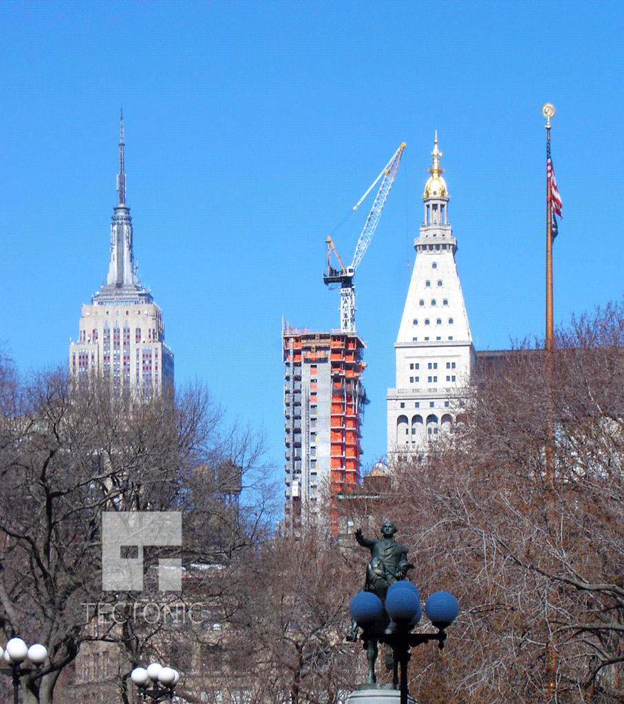 Viewed from Union Square Park
