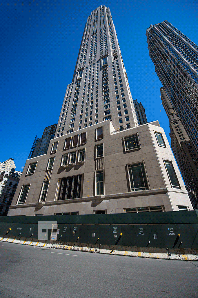 Construction Photos 30 Park Place Nyc Tectonic