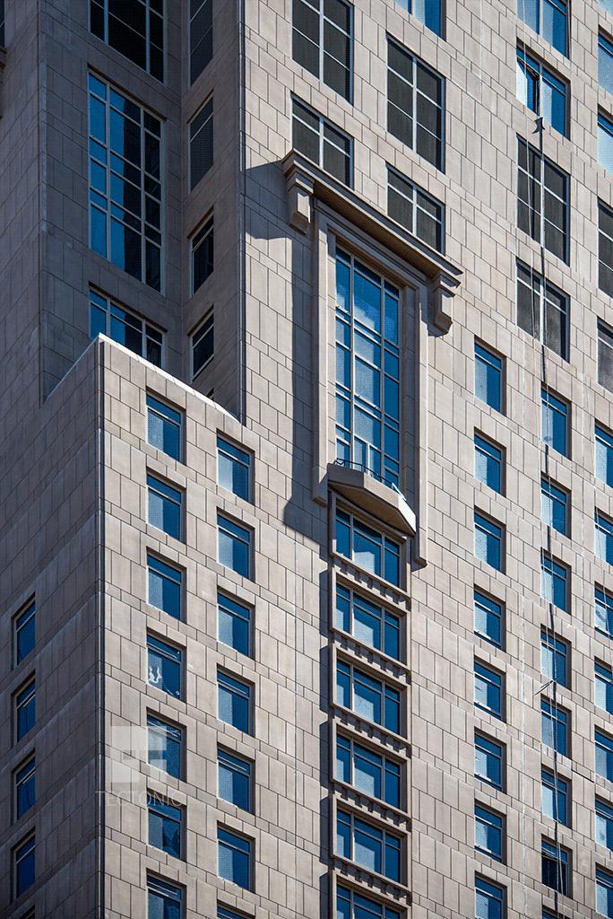 Facade and windows over Church Street