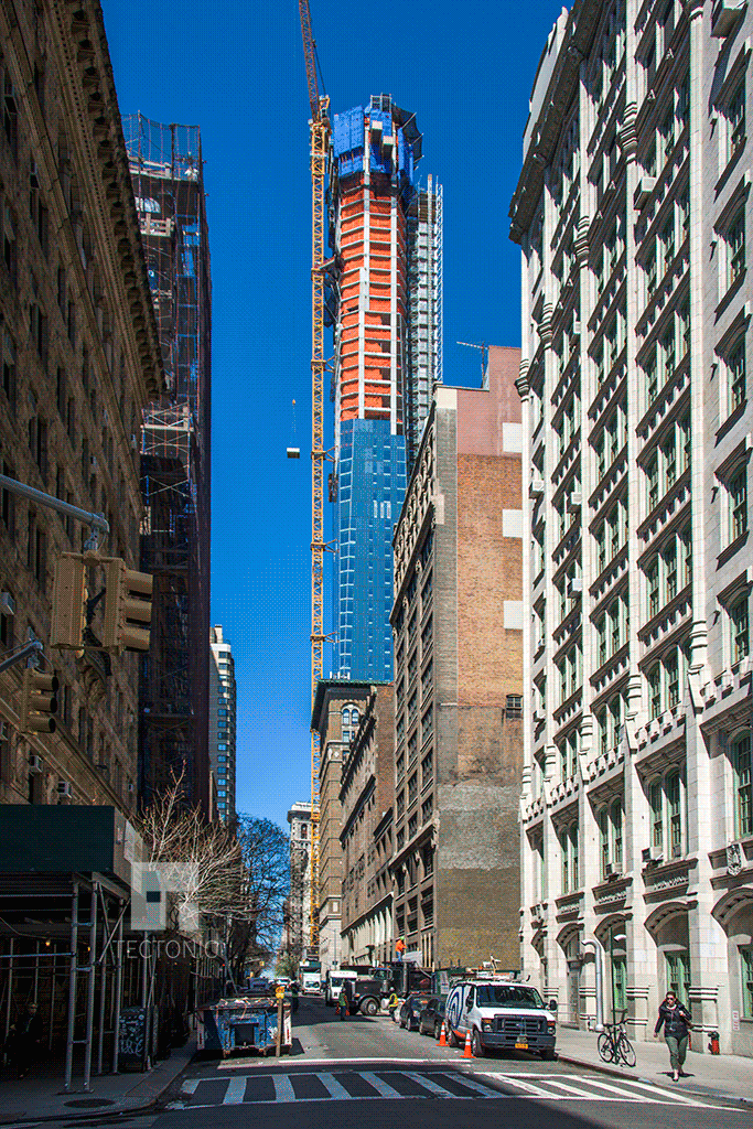 Viewed from Lexington Avenue and East 22nd Street