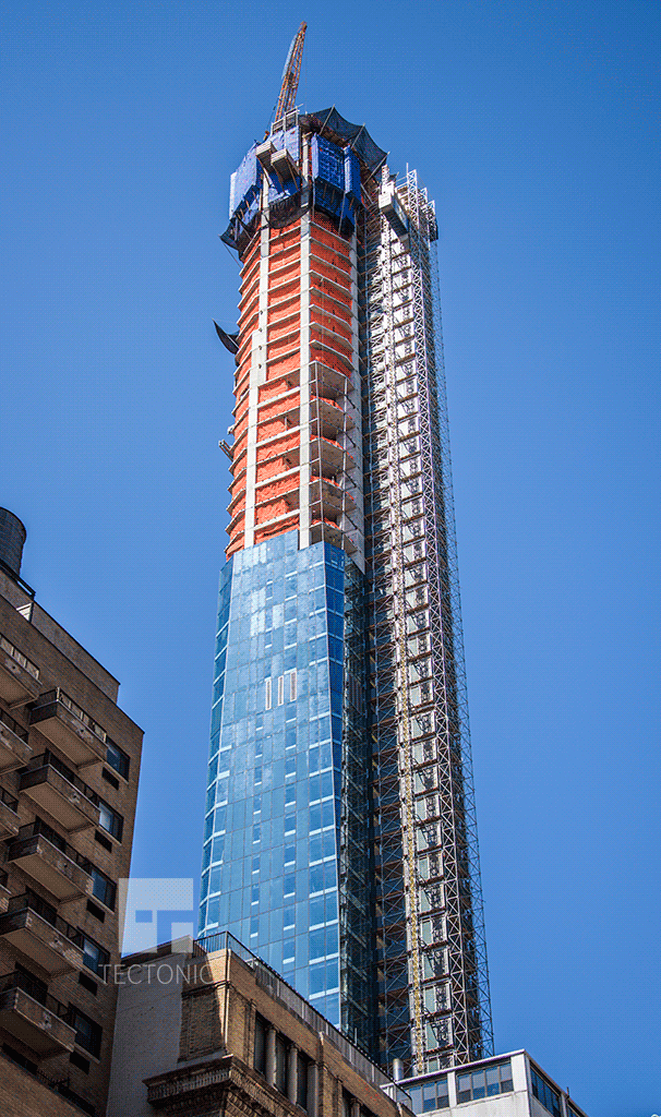 Viewed from East 23rd Street