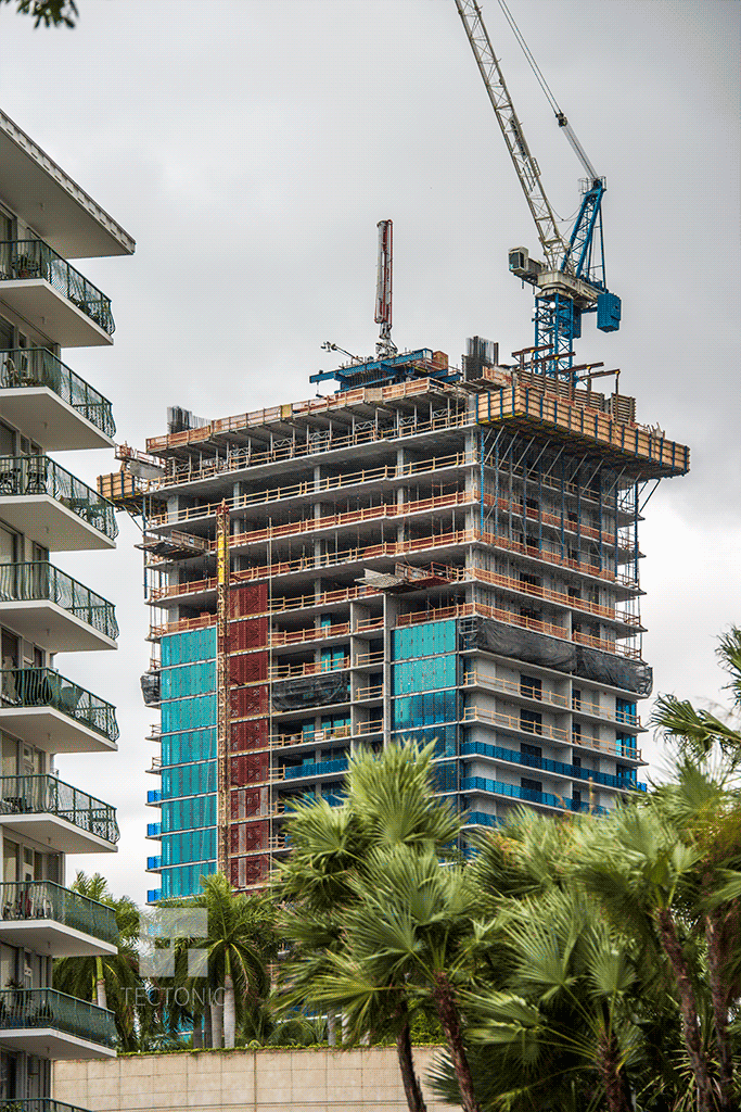 Viewed from Brickell Bay Drive