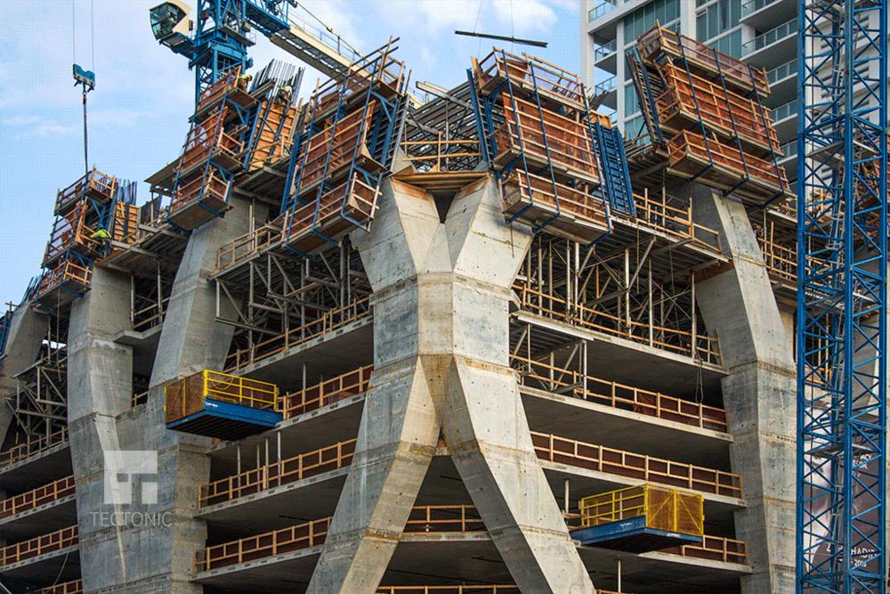 Southeastern corner construction
