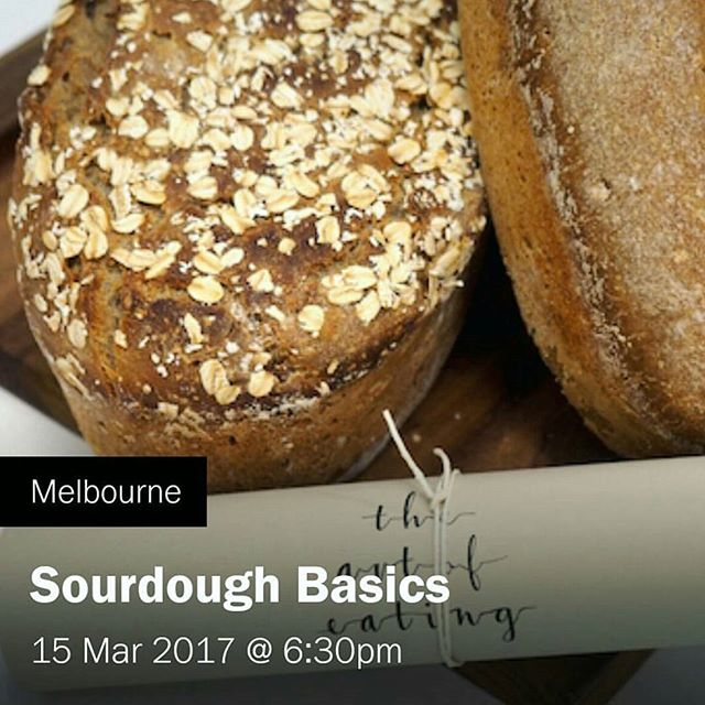 Super excited for next weeks Sourdough Basics workshop at the lovely @workshopmelbourne in Fitzroy. There are a few spots left so head to their website to join in the baking fun! #fermentedfoods #sourdough #sourdoughworkshop #melbourne #melbourefoodie #workshop