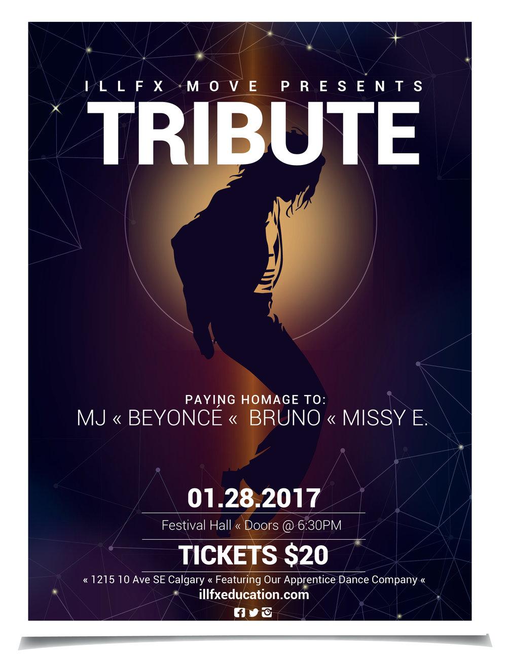 Tribute Dance Show Calgary illFX