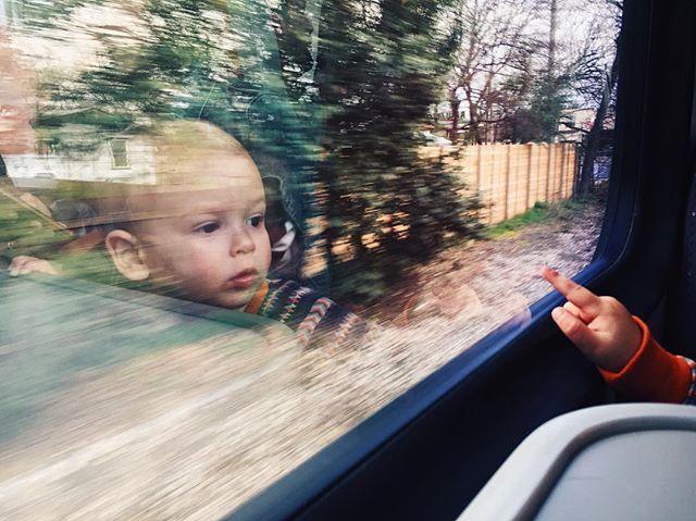 Train Rides.  #austin #atx #austintx #austinmetro #vsco #vscocam #parenting #fatherhood #photooftheday #picoftheday #reflection #life #art
