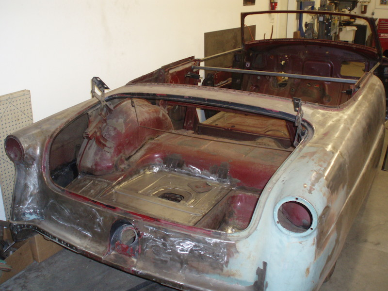 Before: 1953 Ford Convertible