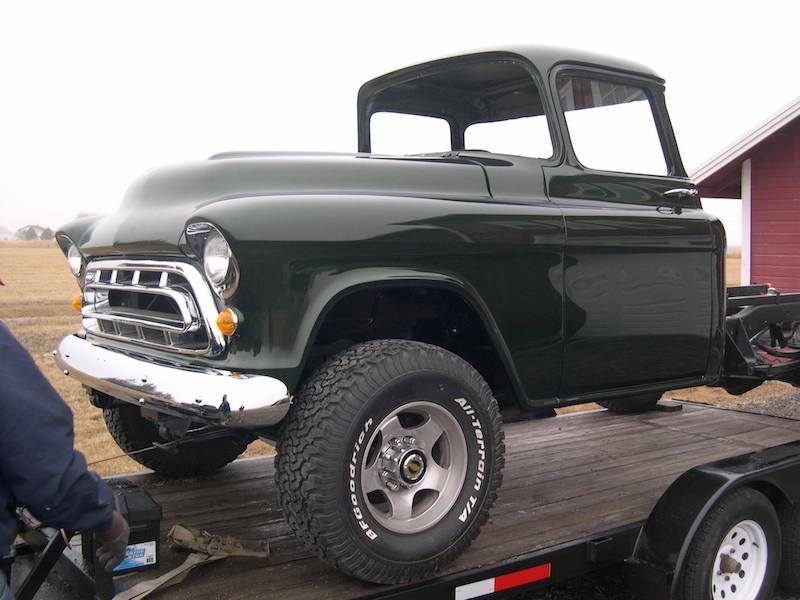 After:1957 Chevrolet Pickup