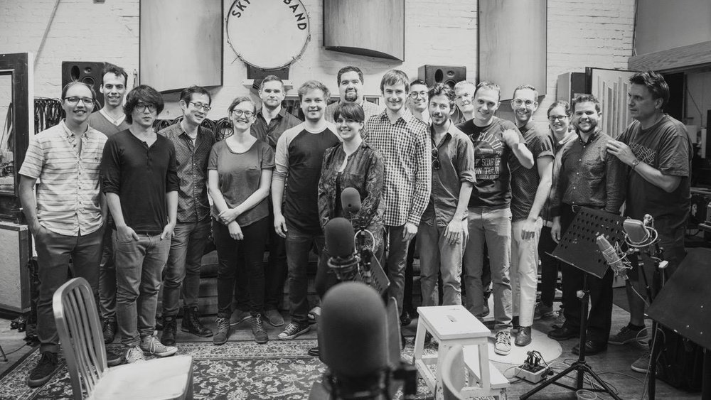 Peter Lenz/Billy Test Large Ensemble at Peter Karl Studios