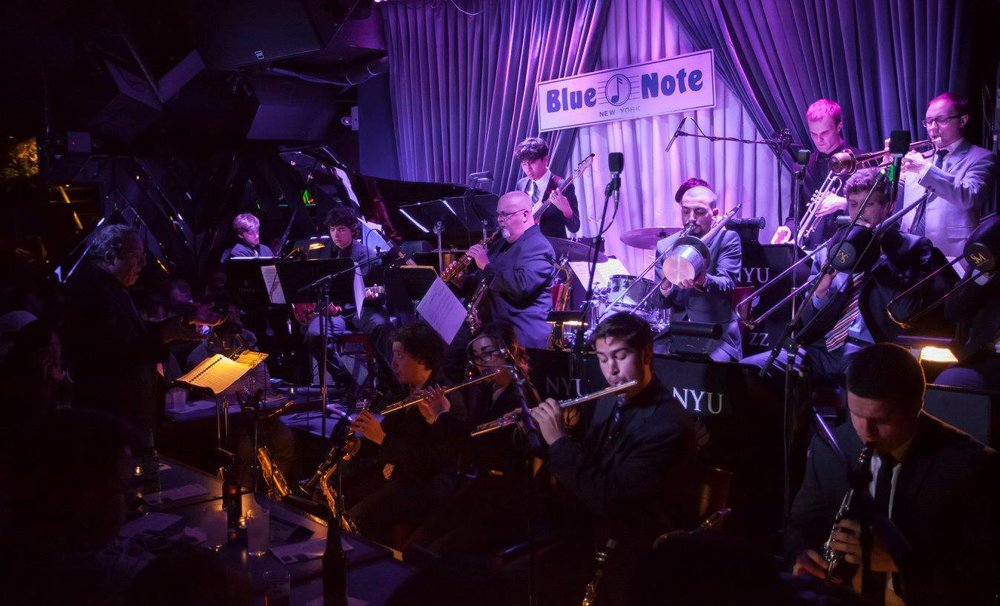 NYU Jazz Orchestra featuring Tom Scott at The Blue Note