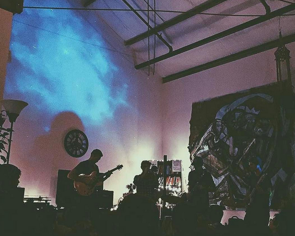 Sofar Sounds in San Francisco with Matterhorn, photo: @cierracass
