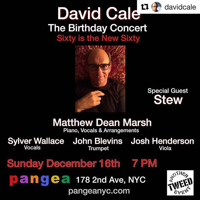#Repost @davidcale with @get_repost ・・・ Singing on my Birthday! @matthewdeanmarsh @matterhornjazz @stewtnp Link in bio.