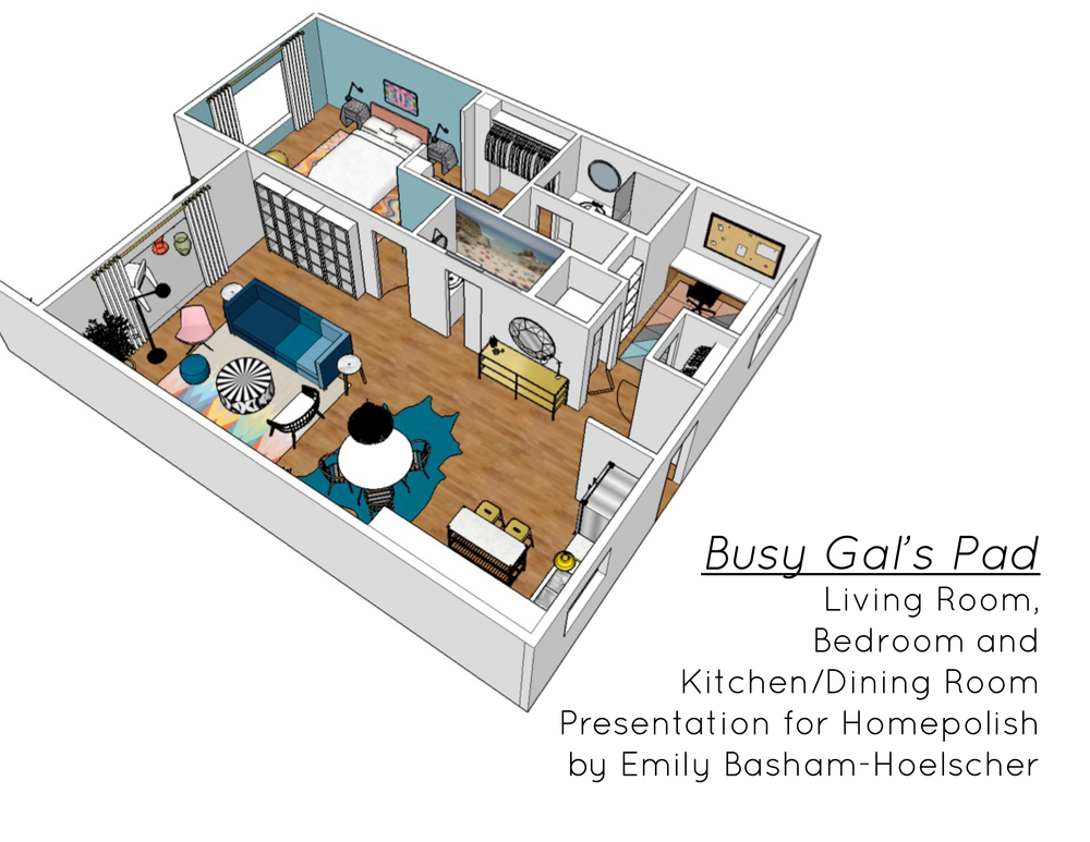 Busy Gal's Pad for Homepolish