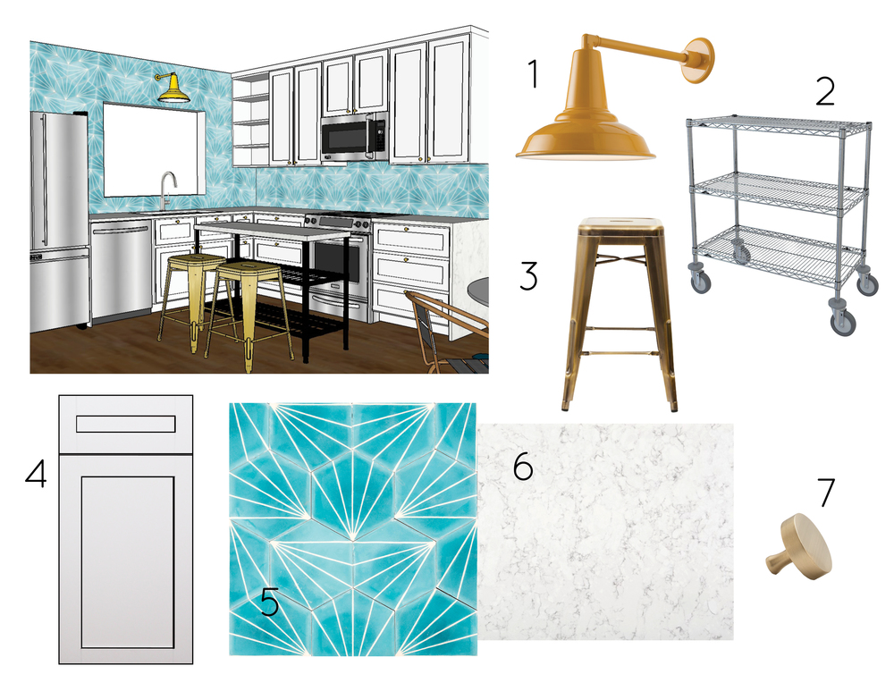 Busy Gal's Pad Homepolish, Kitchen Selections