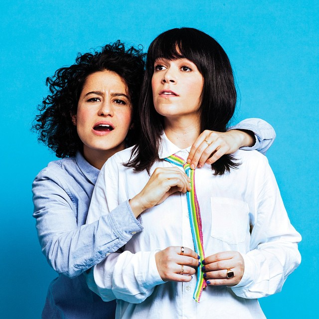 Ok so technically this is not one woman, it's two. But the magic that these two badass chicks make is so brilliant that I am celebrating them together -   Abbi Jacobson and Ilana Glazer  . Their  Broad City  antics remind me of when my best friend and I first lived in Austin and make me feel young again.