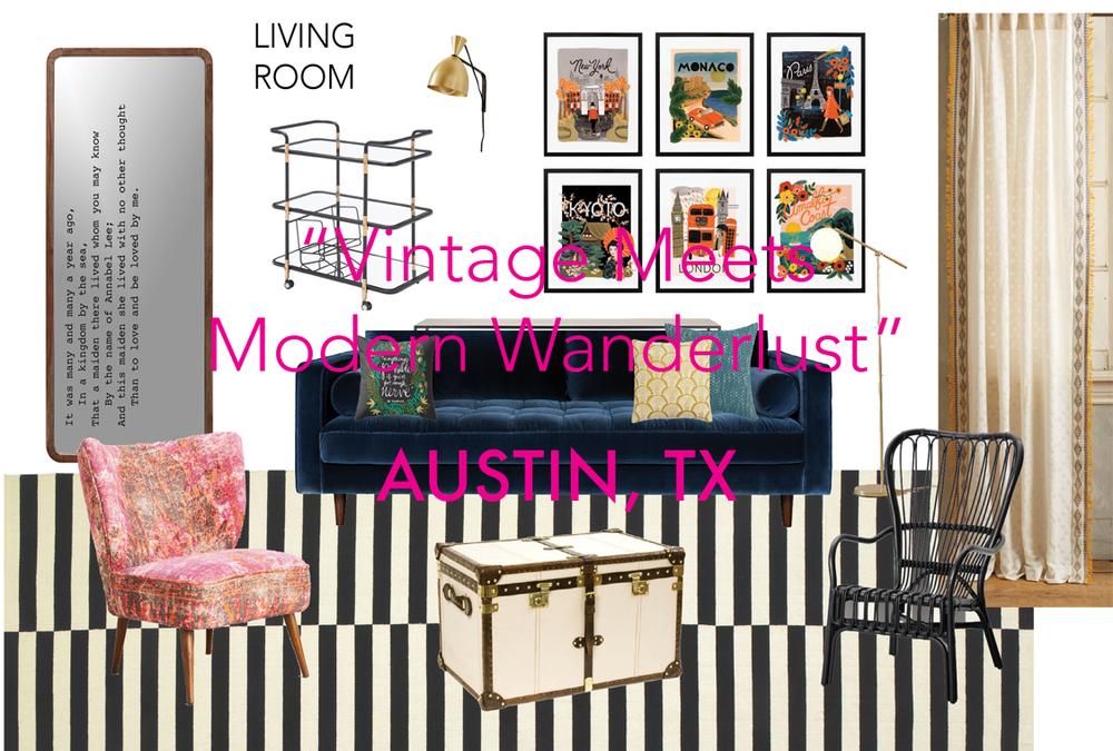 """""""Vintage Meets Modern Wanderlust"""""""