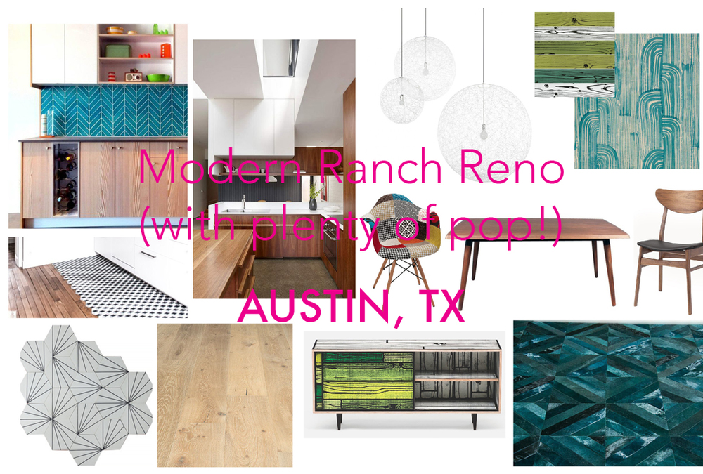 Modern Ranch Reno (with plenty of pop!)
