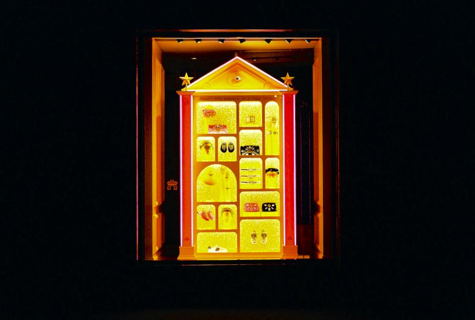 Gucci window, Florence