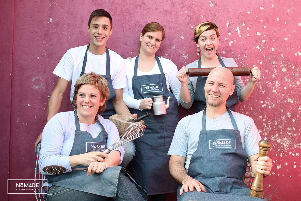Staff de NóMADE | Cocina itinerante