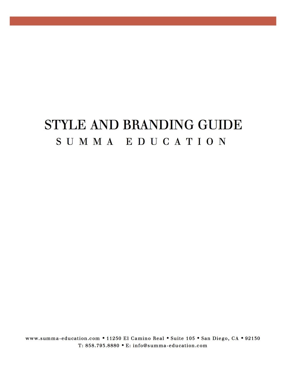 Style and Branding Guide