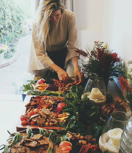 Take the time to decorate and add intention to your feast.