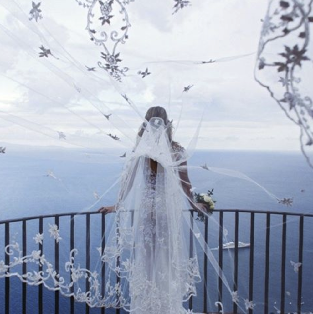 @ weddedwonderland Fairies, On the site we have an incredible real destination wedding which is too beautiful for words. This couple brought their family together to a 12th century villa located on the Amalfi coast in Italy – an epitome of romance for this destination wedding. Bride wears  @zuhairmuradofficial  Photographer  @whitefashionphotographer