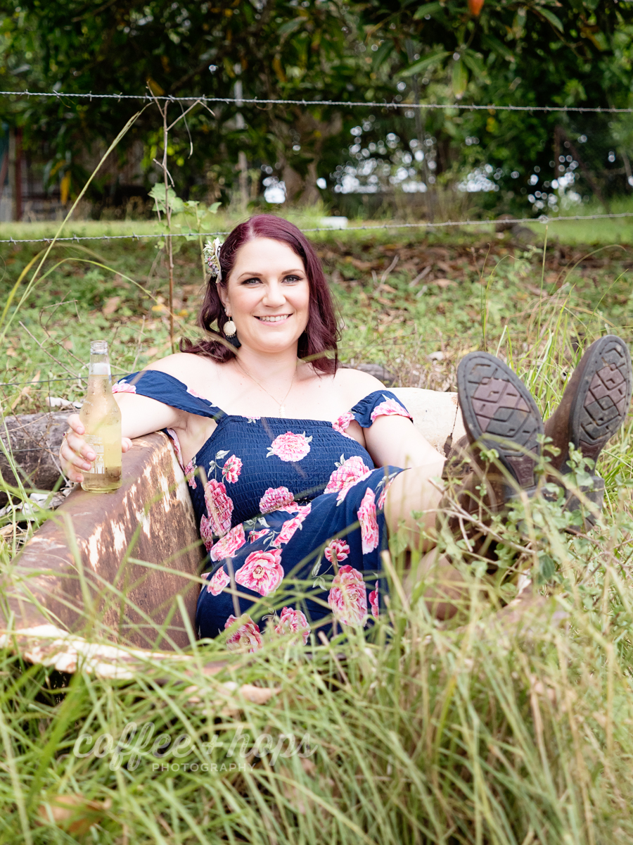 Samantha's 30th Birthday Portrait Session in Mackay