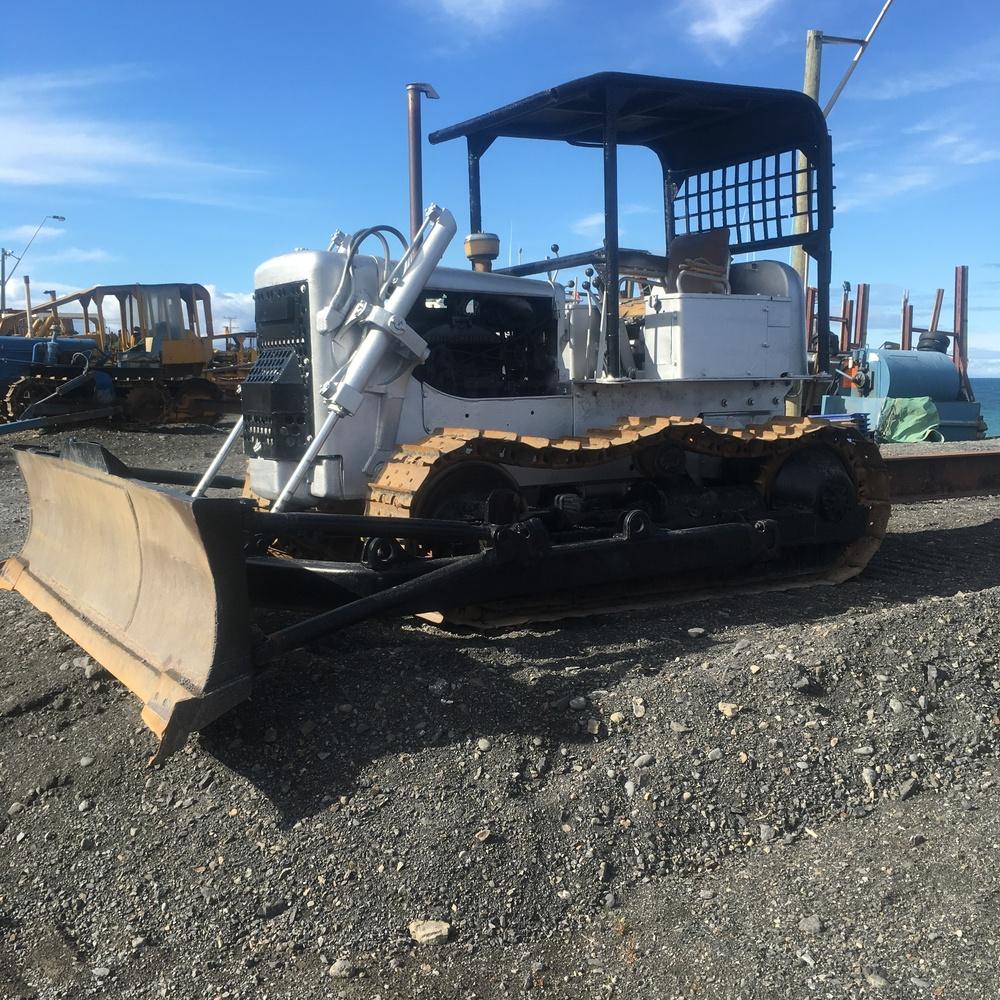 My favourite silver bulldozer