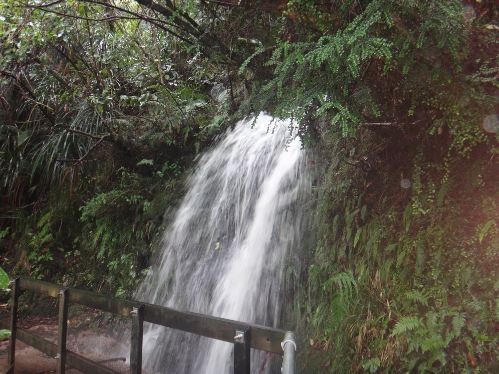 Waterfalls everywhere after the rain