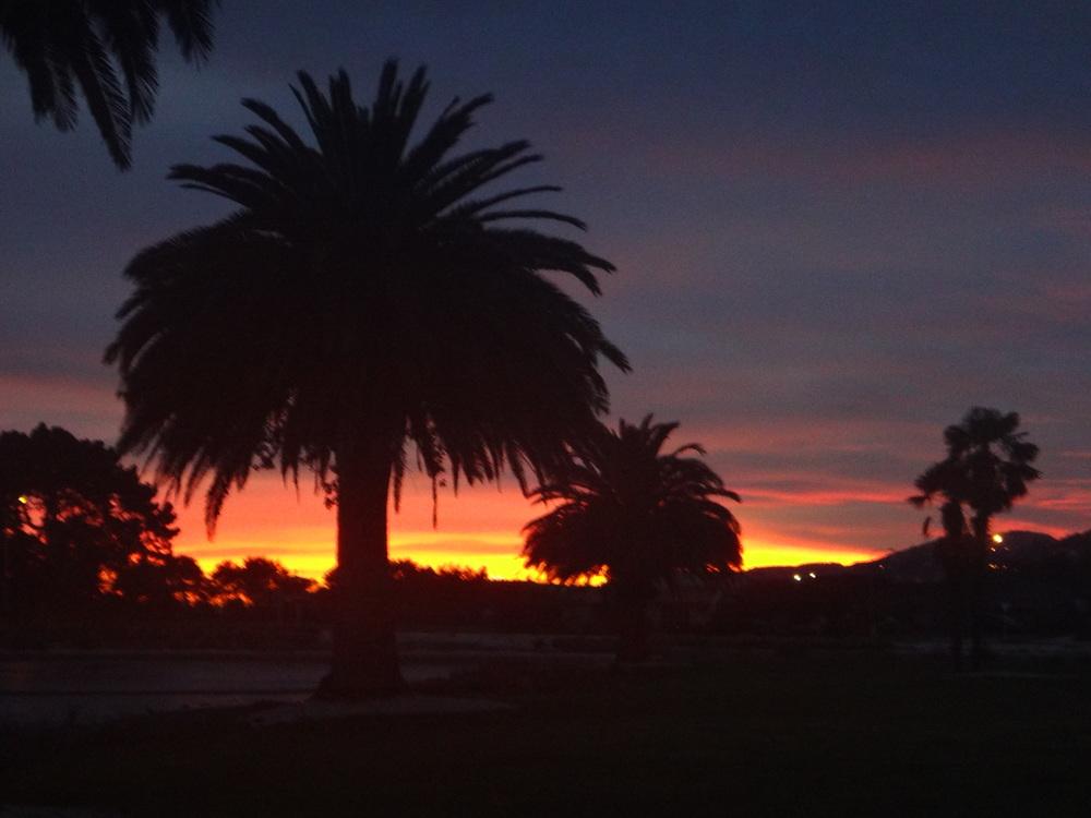 Sunrise in Redz world.