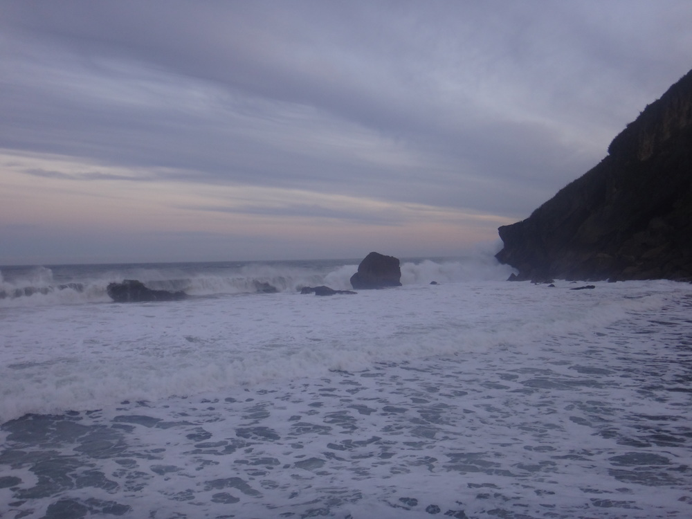 Kohaihai Bluff Waves.