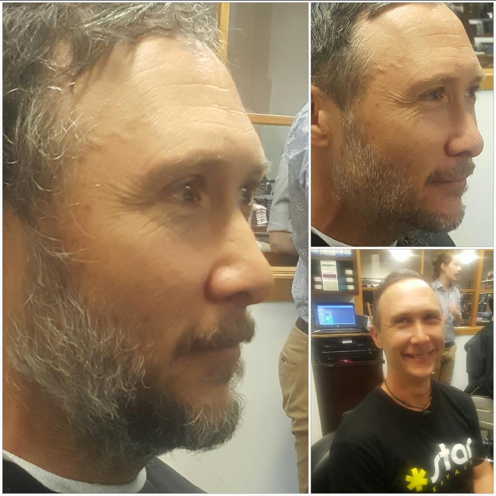 Close shave.
