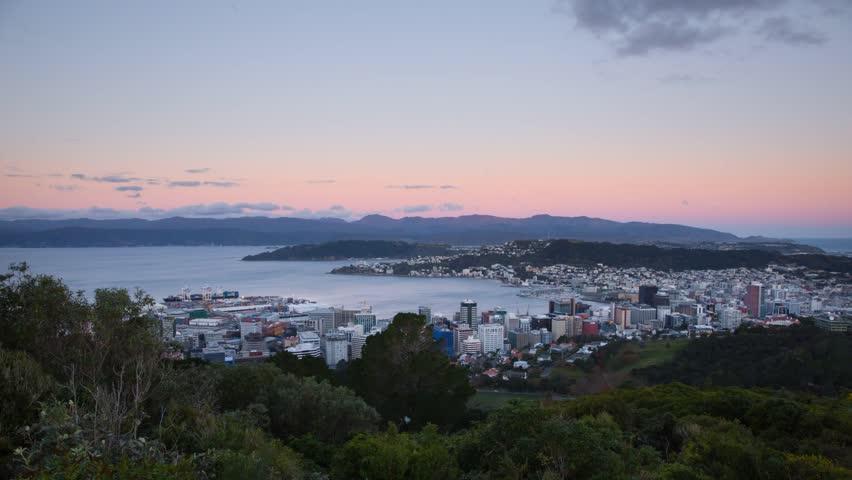 Wellington sunrise.