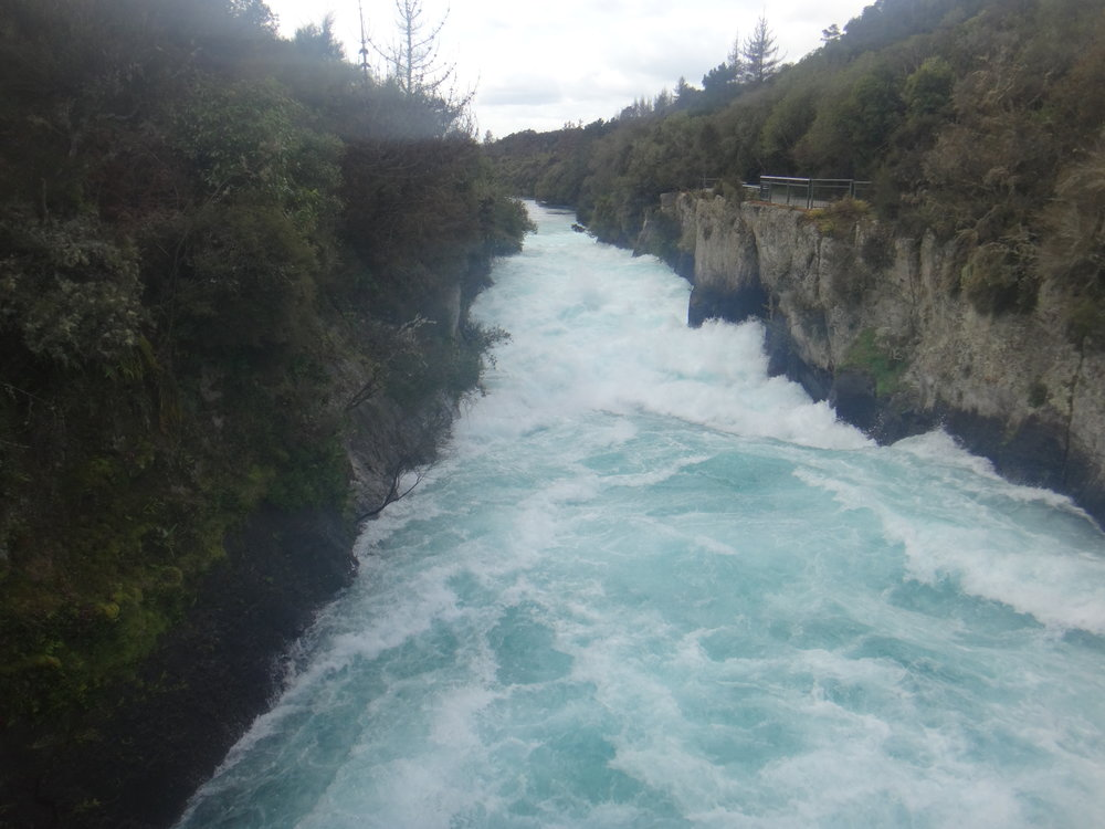 Huka Falls. It never disappoints. 25 years since I last visited.
