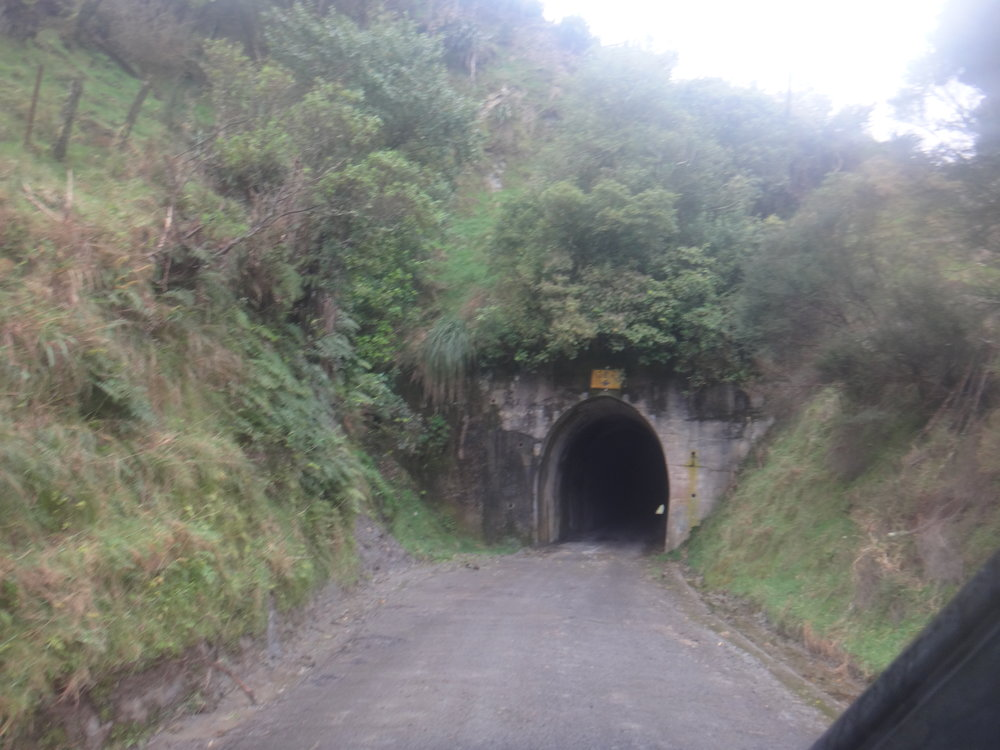 The amazing carved tunnel.