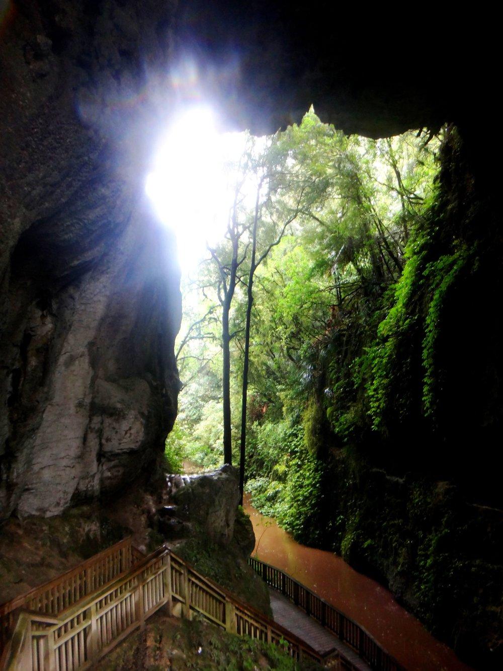 Mangapohue Natural Bridge.