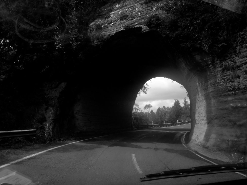 Fun tunnels.