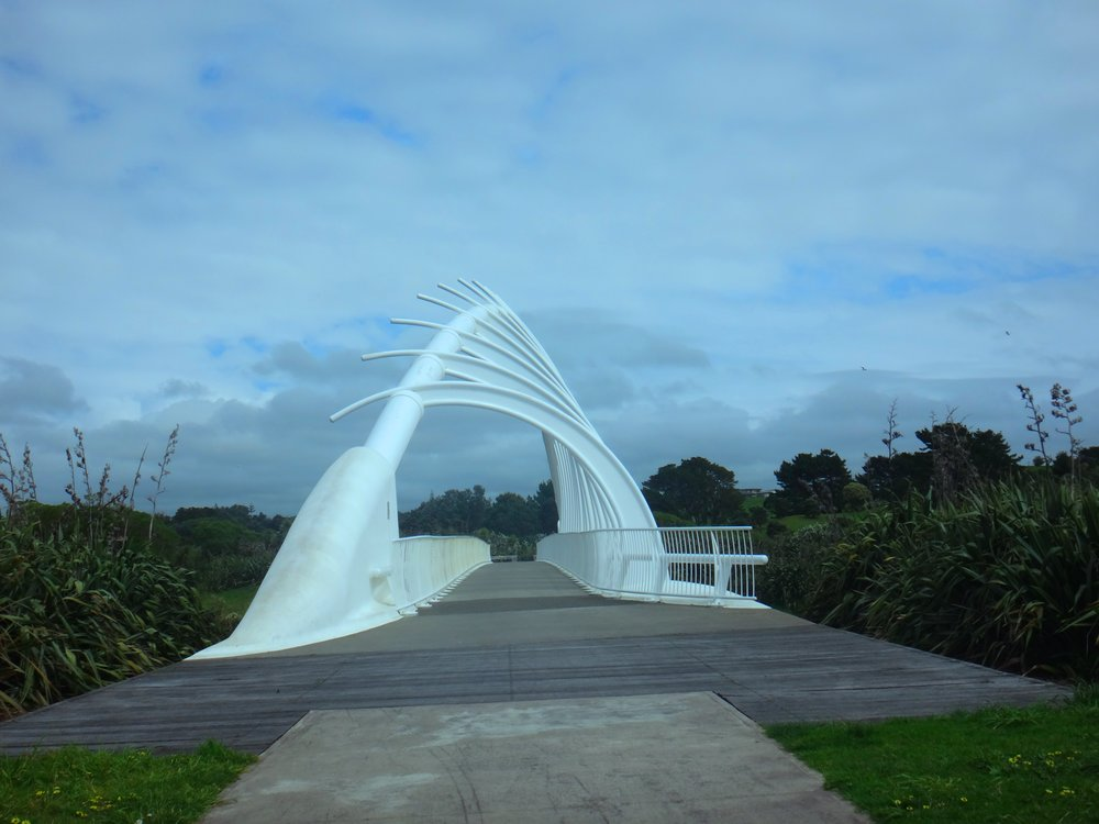 When you visit New Plymouth this bridge is a must see.