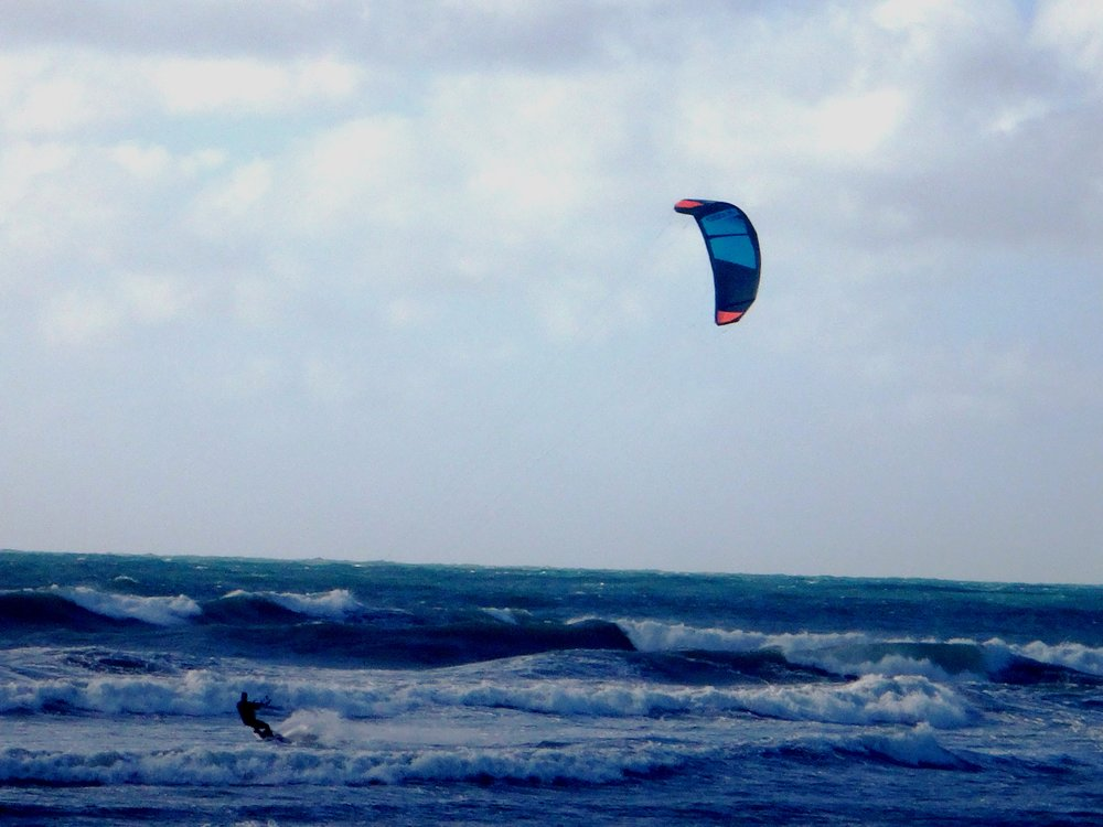 Kite-surfing guru.