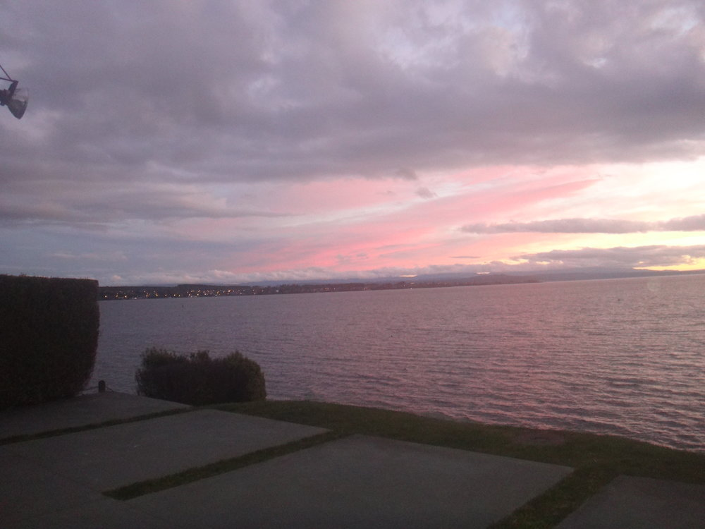 Another Taupo sunset.