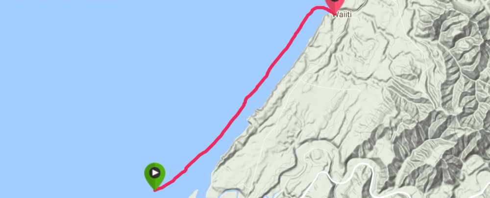 Distance:  6.56km          Time:  1:09:08    Avg Speed:  6.7kph          Calories:  363