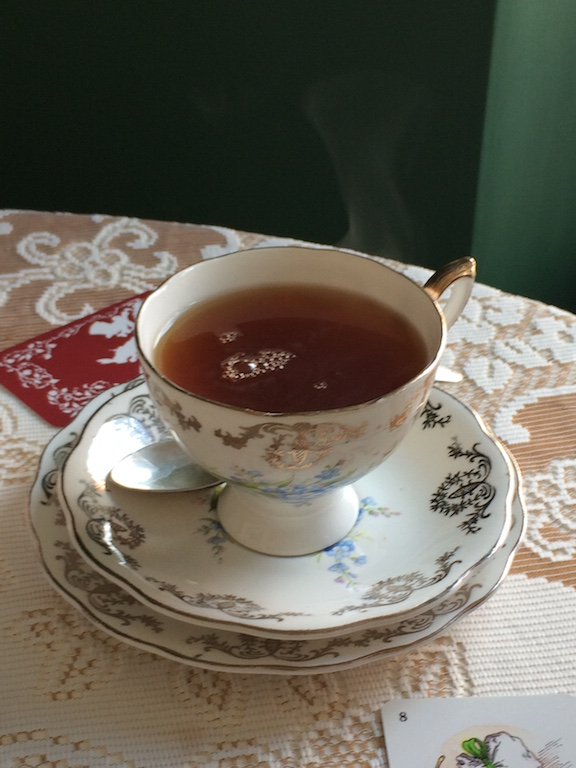 Lady Grey tea at Shipley's Curiositeas