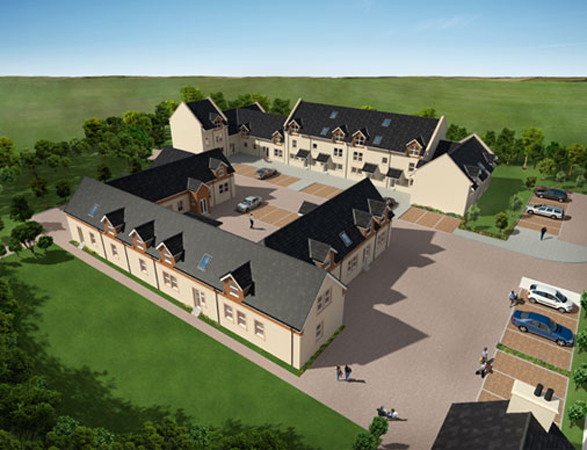 Residential Development, Lambhill Farm, Strathaven click on thumbnails to view larger images