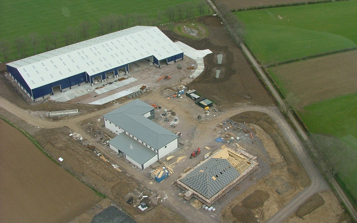 New Feed Depot & Offices, Whiteshawgate, Strathaven   click on thumbnails to view larger images